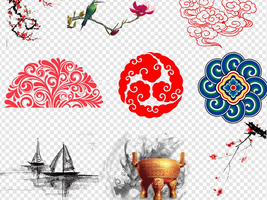 中式边框中国风元素