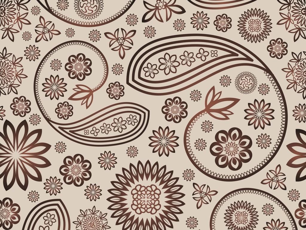 植物花卉图案设计欧式花纹图片