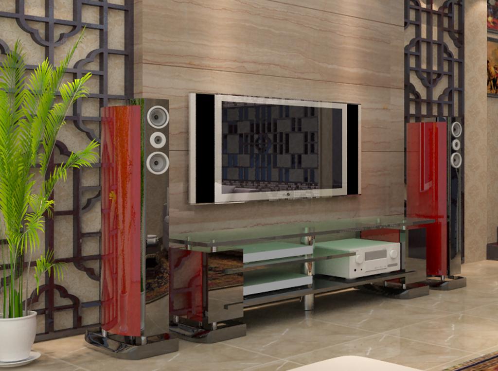 电视机柜音箱