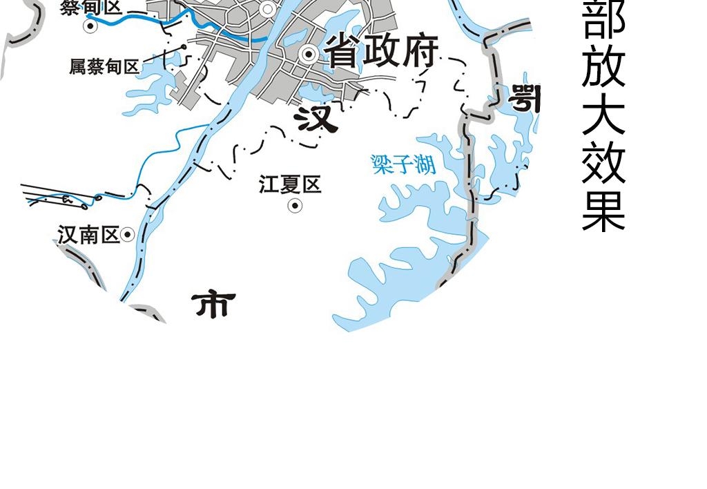 湖北省地图(图片编号:16336764)_其他_我图网