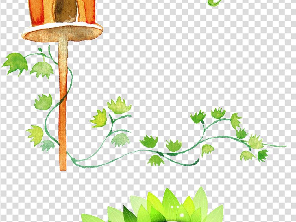 手绘花卉元素手抄报背景手绘水彩花卉花卉手绘手绘花卉花朵