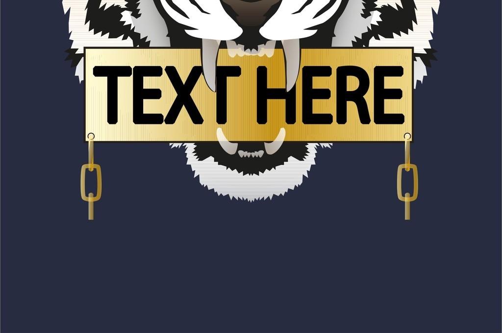 我图网提供精品流行 老虎头字母图案潮牌T恤图案可编辑AI素材 下载,作品模板源文件可以编辑替换,设计作品简介: 老虎头字母图案潮牌T恤图案可编辑AI素材 矢量图, RGB格式高清大图, 使用软件为 Illustrator CS3(.ai) 老虎头AI 卡通动物图案AI 字母AI 图案AI 潮牌图案设计 可编辑童装图案素材 服饰图案AI源文件 生肖图案设计模板 动物图案创意时装素材 老虎图案AI