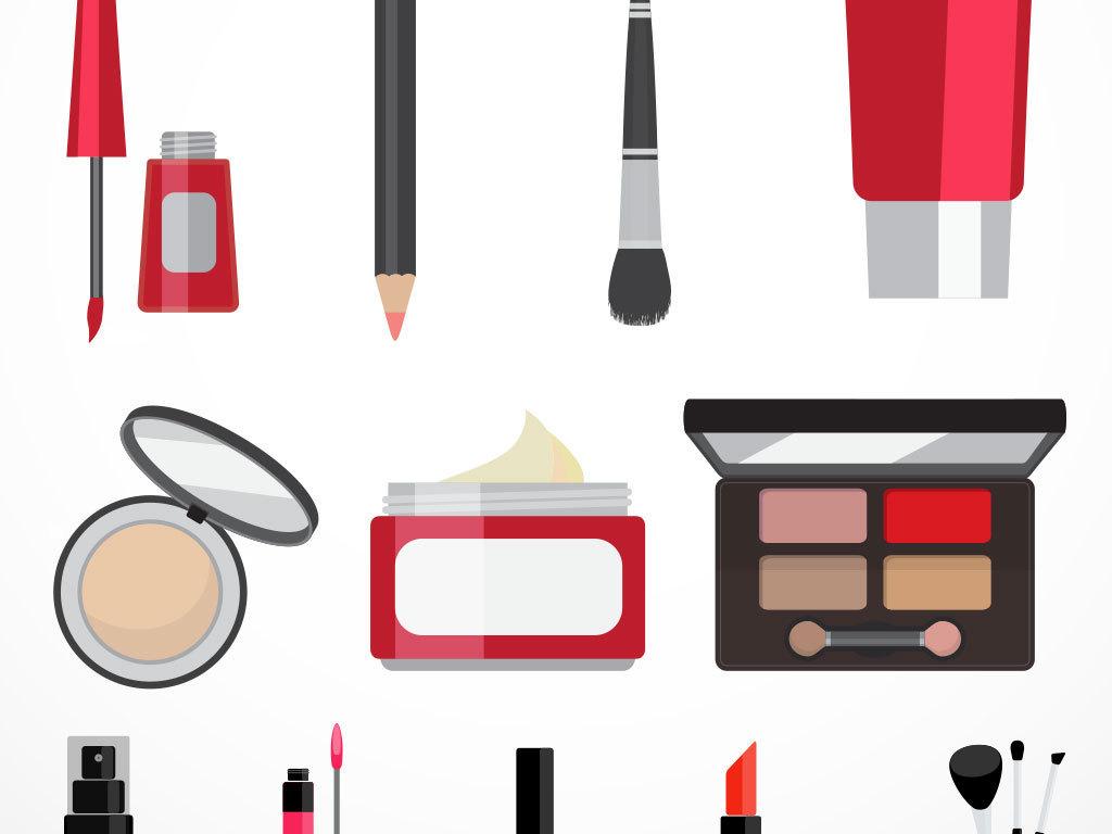 护肤美容品矢量图标素材图片下载ai素材 其他图片