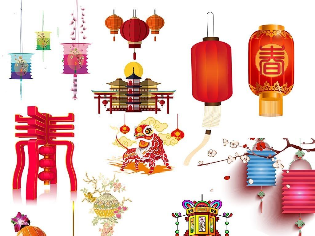 中国风灯笼素材图片喜庆灯笼素材图片