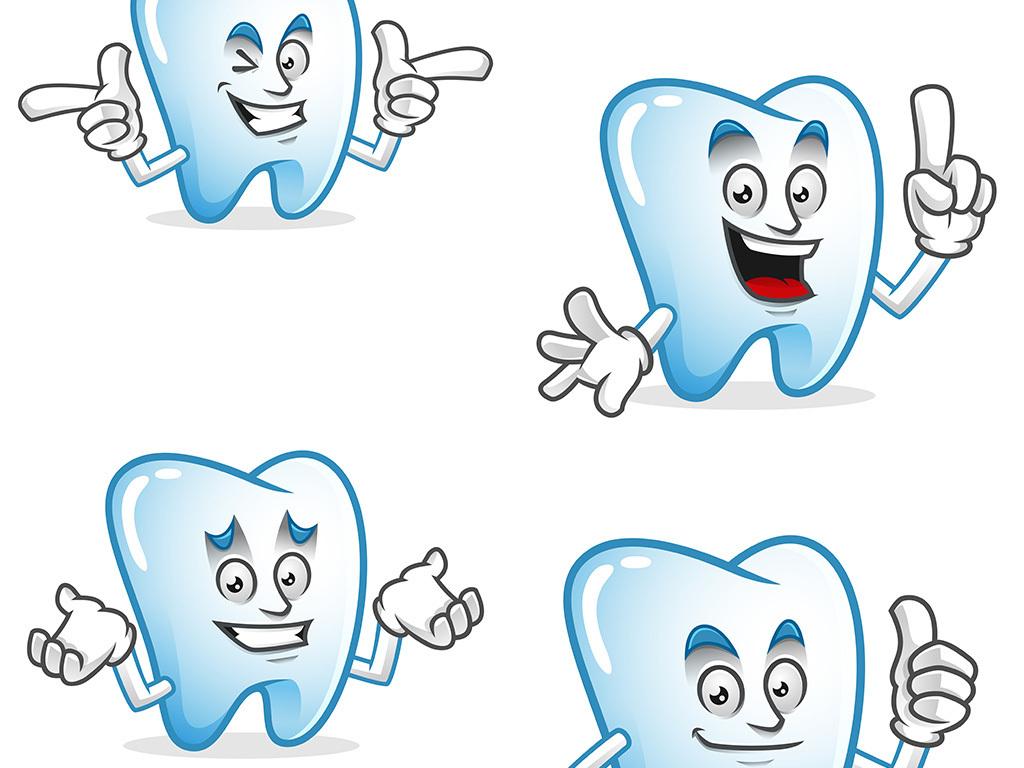 医疗卡通形象口腔卡通水滴卡通矢量素材水滴卡通图标水滴表情图片