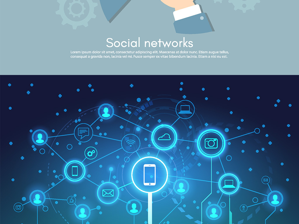 ai)网络信息图标网络信息图片素材手机应用图标素材网络连接图标用户