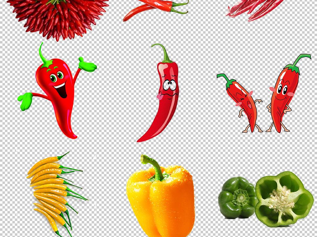红辣椒小辣椒卡通辣椒png免扣图片图片