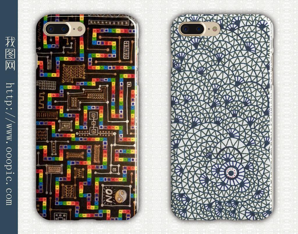 手机壳手绘图案手抄报图案手的图案3d手绘图案手机壳
