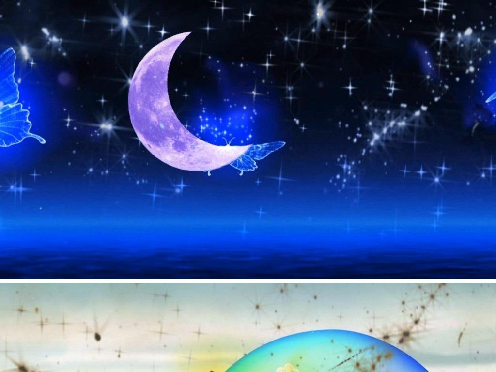 萨克斯曲月亮代表我的心背景视频