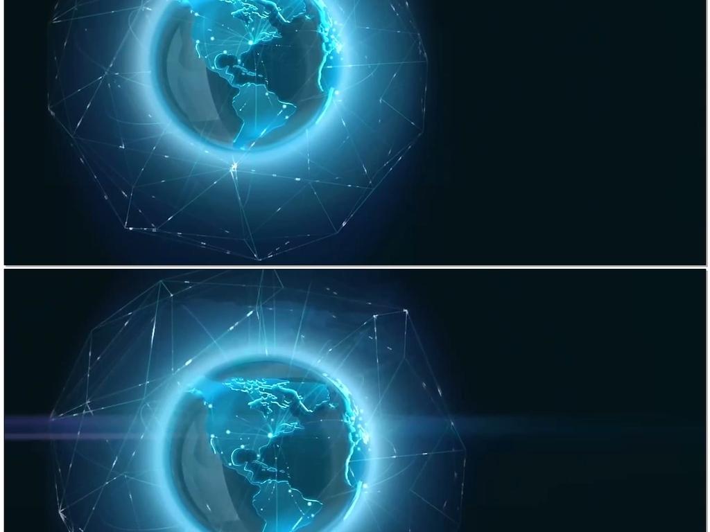 科技地球交通物流电信互联网连线