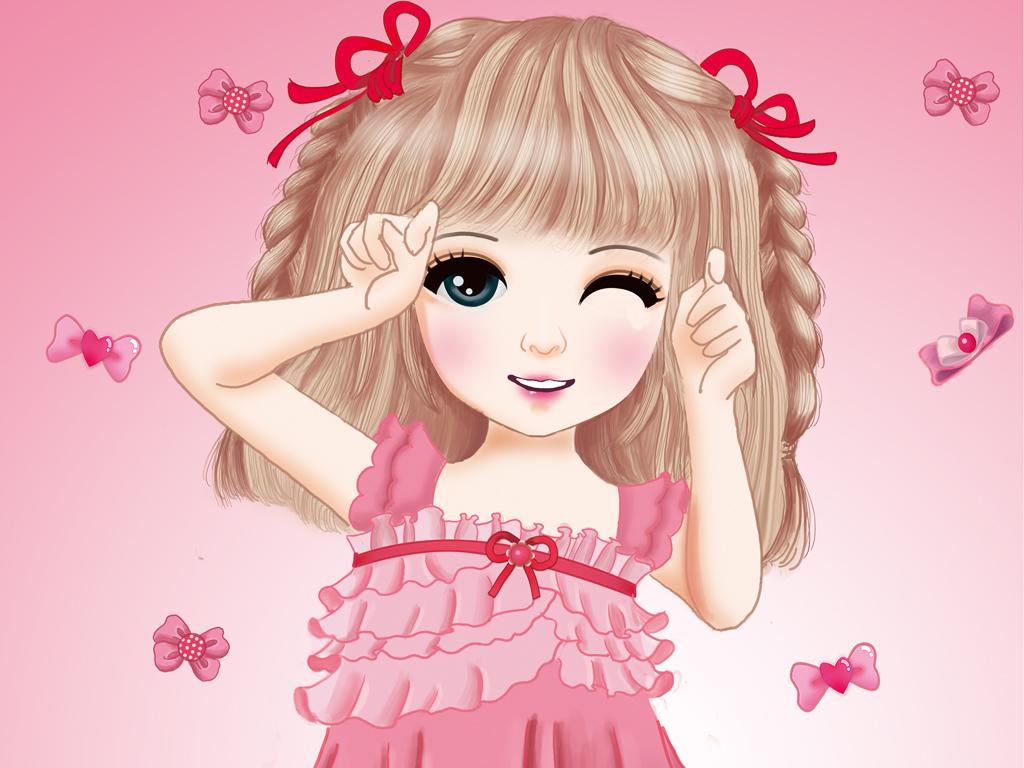 女孩手绘女孩女孩手绘唯美小女孩唯美手绘女孩韩国