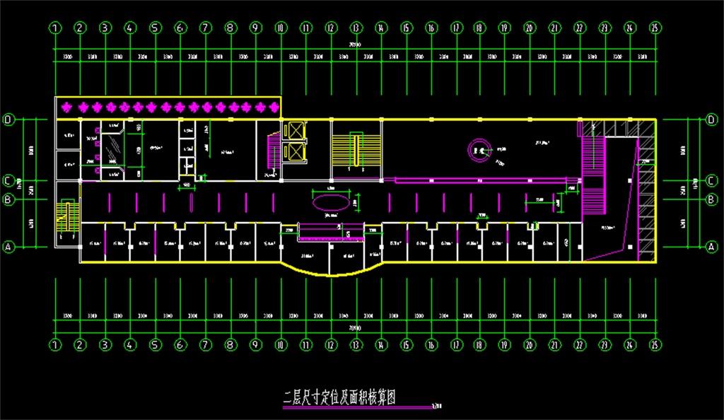 餐厅CAD平面图