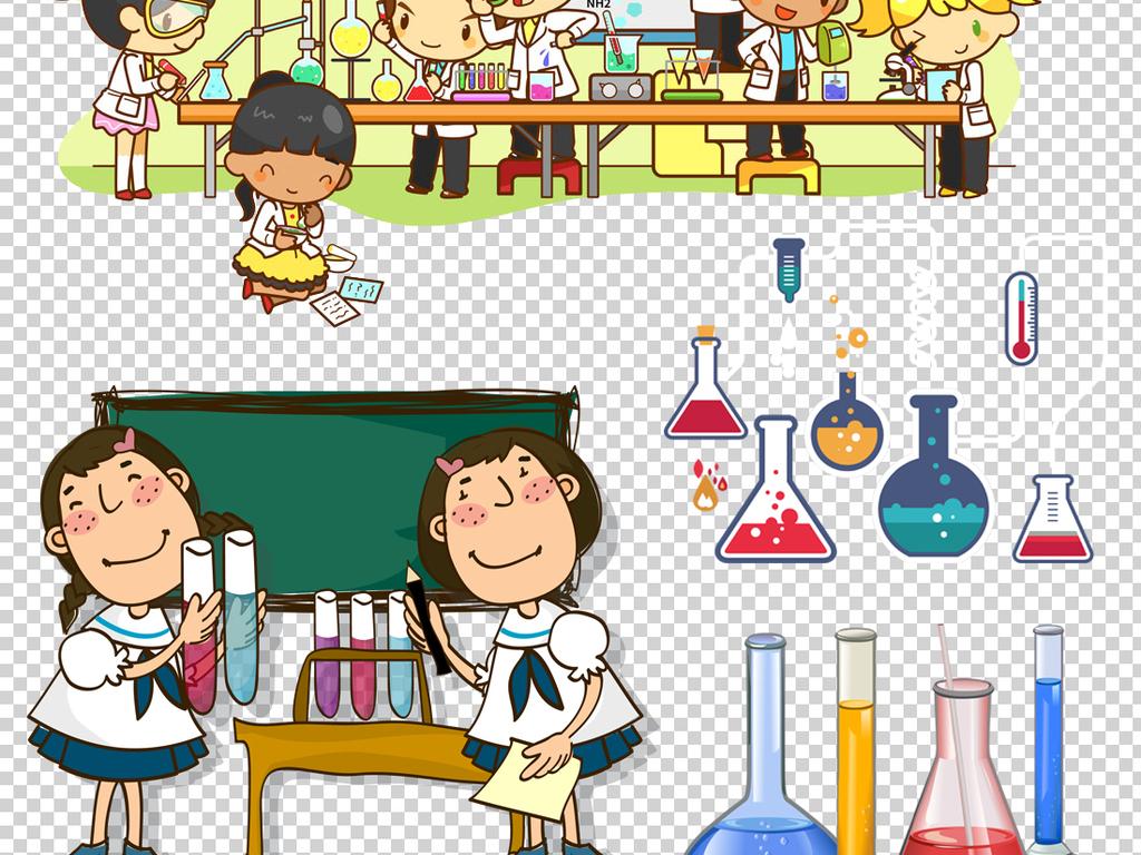 科学化学实验设备器材png透明背景素材