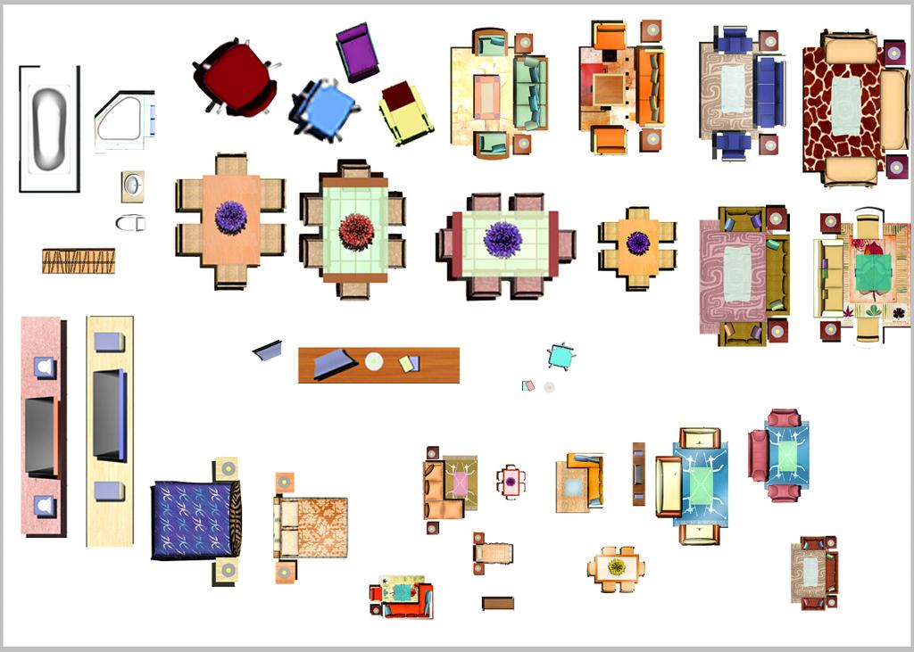 家具作品手绘排版