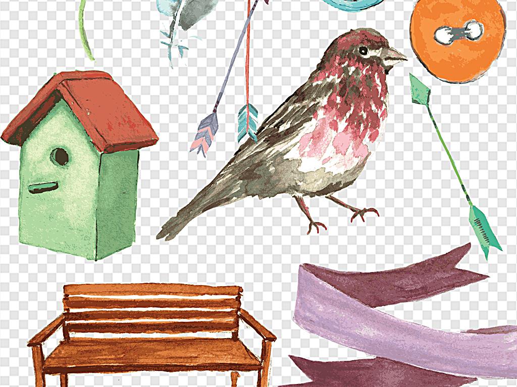 鹿角绚丽花朵松果梦幻绚丽花朵复古手绘手绘pop手绘pop字手绘海报手绘