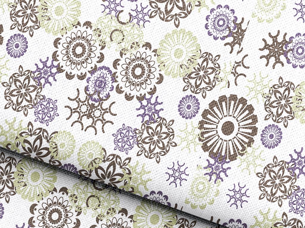 欧式花纹底纹抱枕图案设计