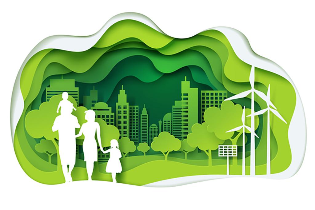 低碳环保 16359471 公益海报