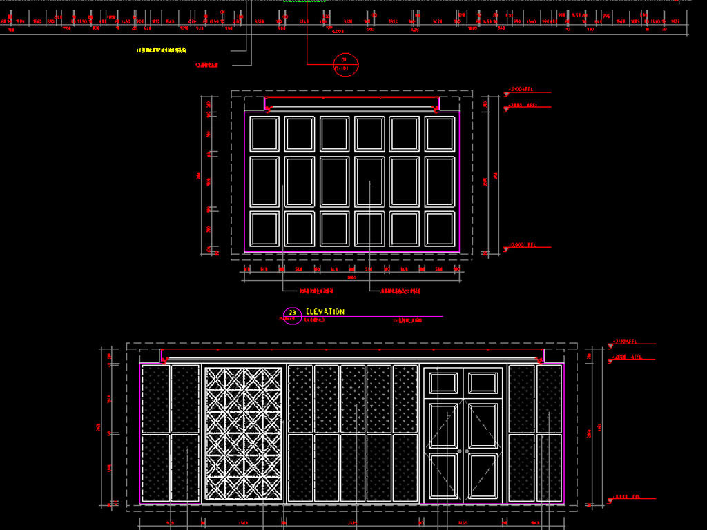 餐馆及宾馆CAD平面设计图