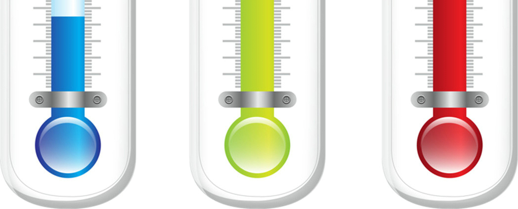三个温度计免抠透明ps素材