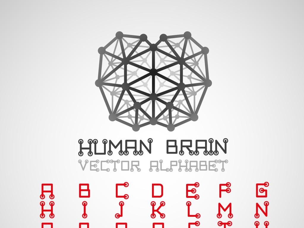 数字logo名片                                  模板科技电器电路