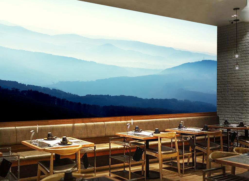 酒吧吧台ktv背景墙墙壁场景样机109