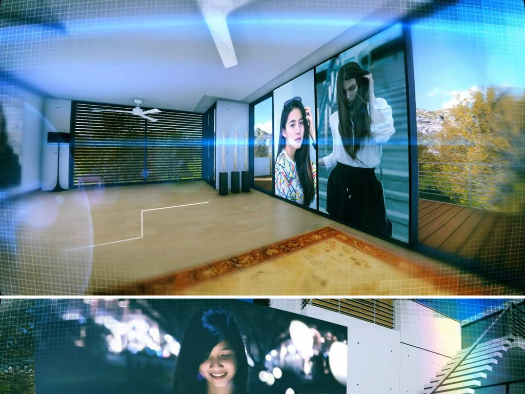 三维室内空间照片展示ae模板