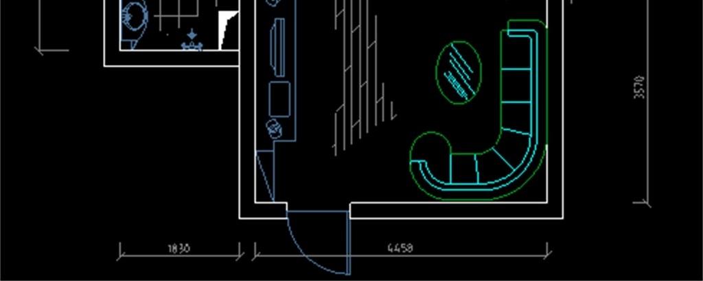 cad图库 室内设计cad图库 cad图纸 > 室内装修装饰cad施工图3d效果图