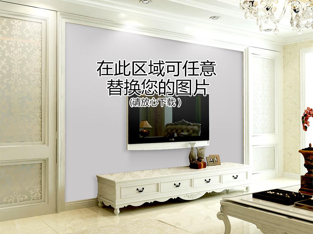 大厅电视墙背景墙大全8用地板专用清洁剂清除斑点和污渍