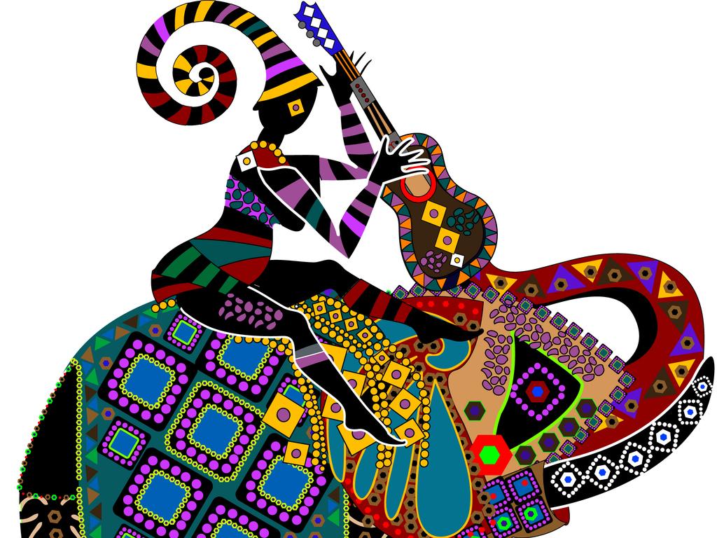 设计元素 自然素材 动物 > 2017年少数民族精美矢量装饰画