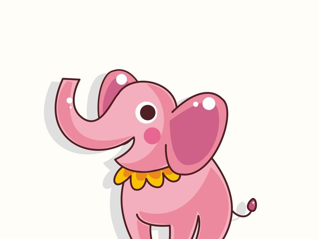 卡通动物大象马戏团(图片编号:16399257)_动物_我图网