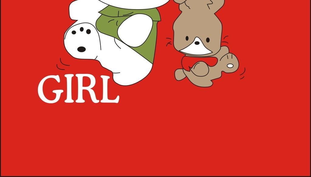 卡通图案童装t恤图案设计英文字体