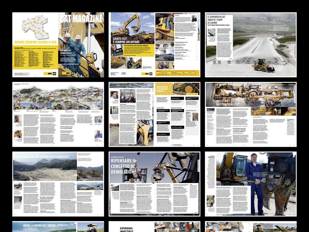 重型机械画册排版设计欣赏设计手册创意画册产品样本册子画册封面图片