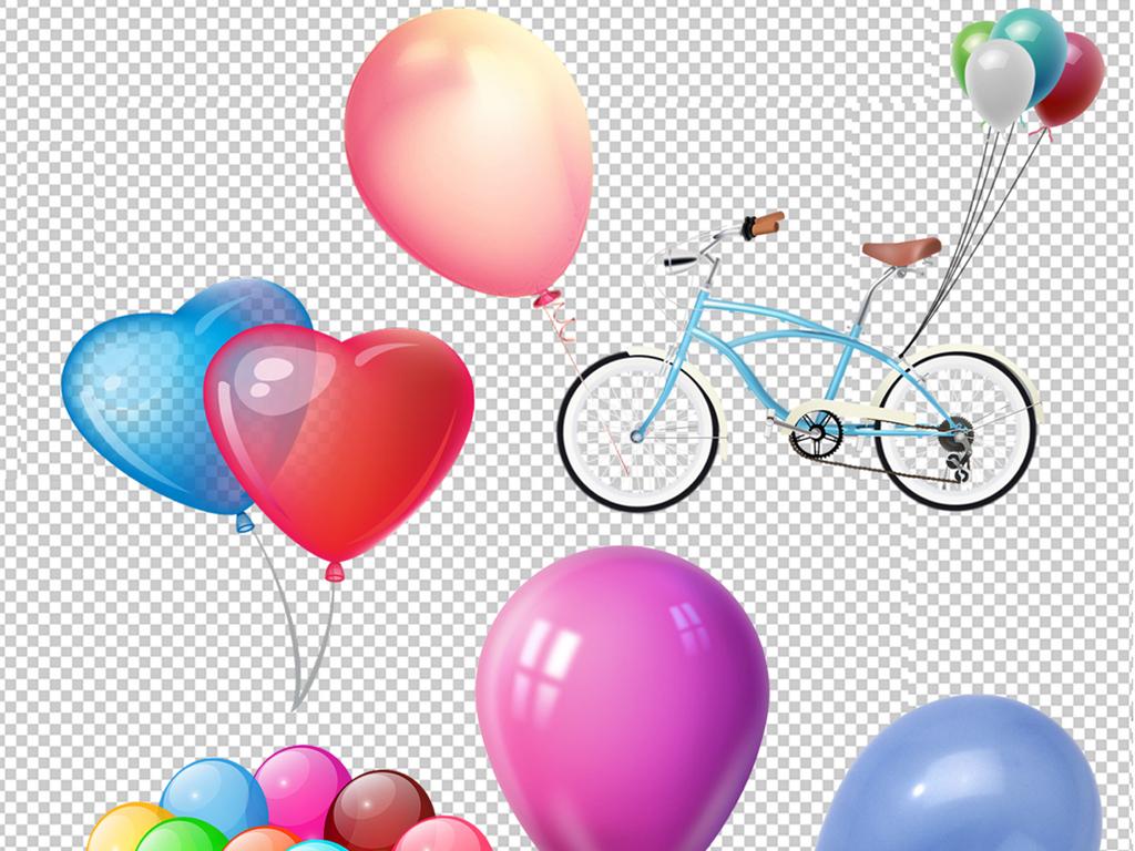 自行车                                  氢气球