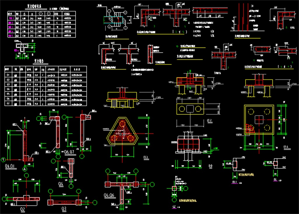 底框结构cad施工图