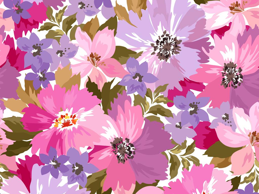 蔷薇彩色铅笔画