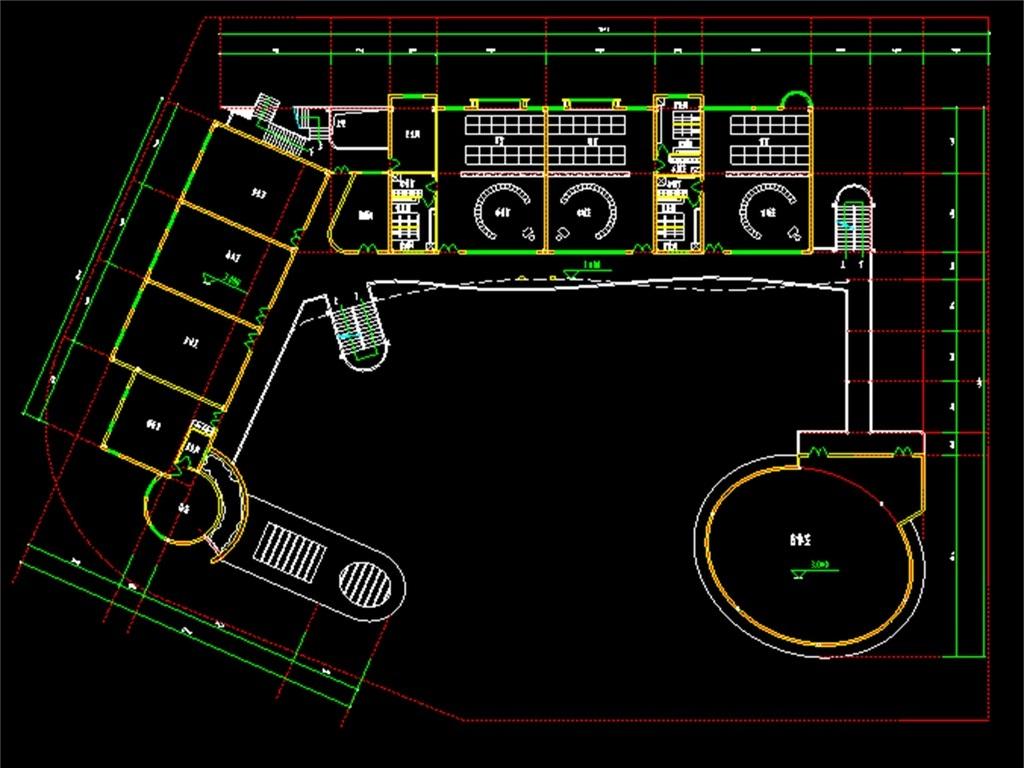 图幼儿园cad设计图宿舍平面图幼儿园cad建筑施工图幼儿园cad立面图
