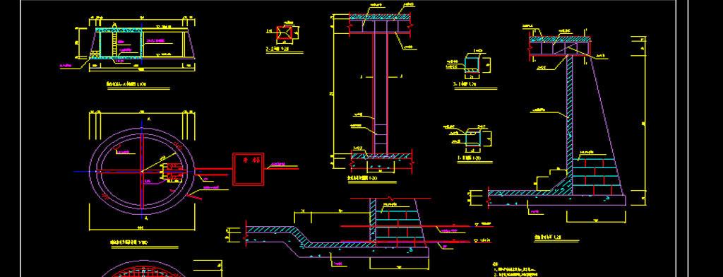 水池cad建筑设计图平面图下载(图片0.83mb)_cad图纸