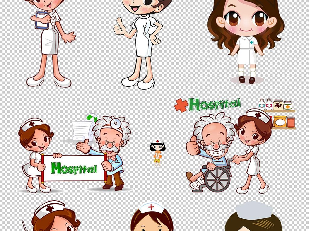 卡通小护士护士男护士护士节护士卡通医生护士节图片人物
