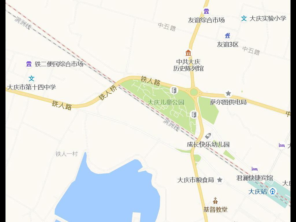 最新大庆市地图查询 - 大庆交通地图全图 - 黑龙江大庆地图下载