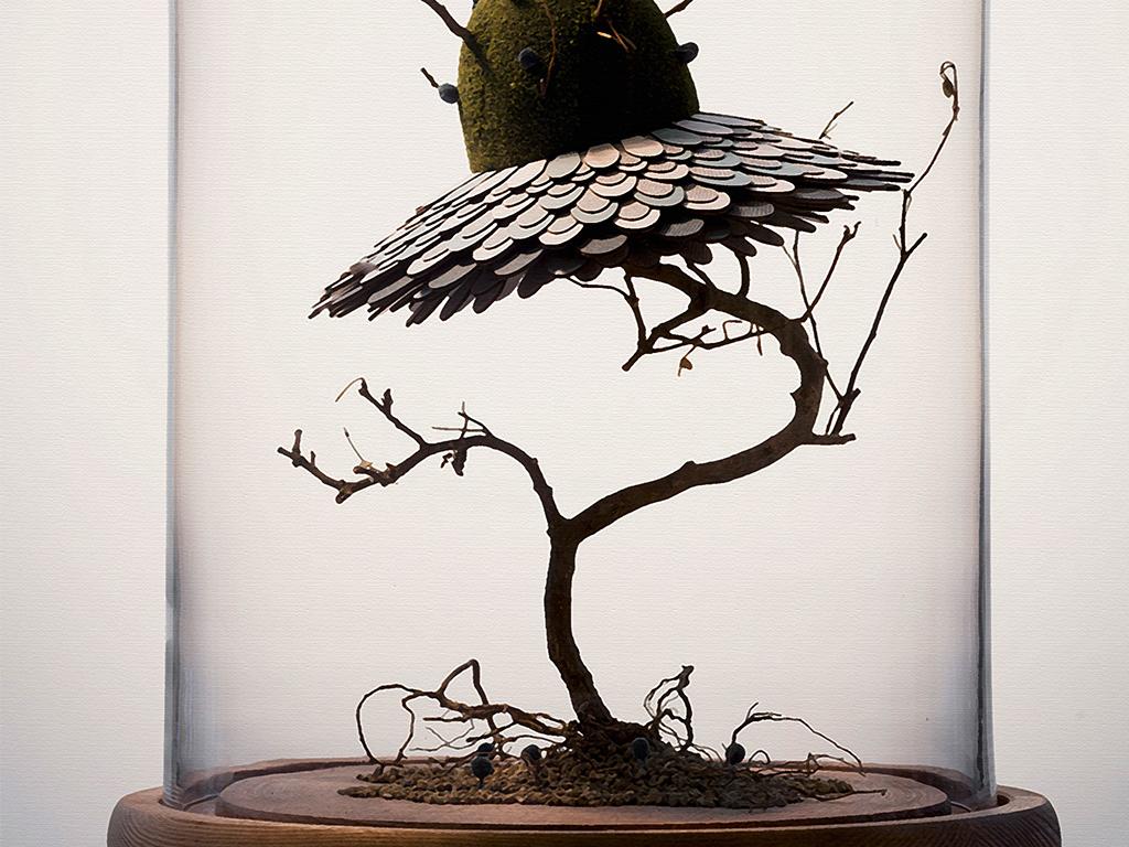 欧式创意三联植物装饰画