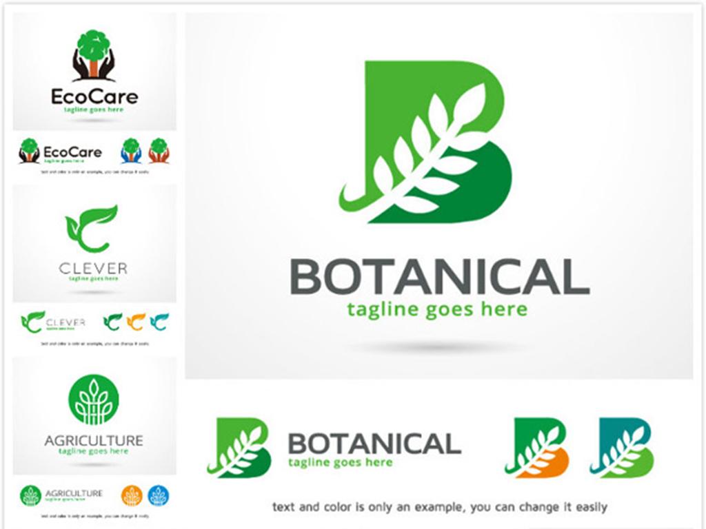 环保logo矢量