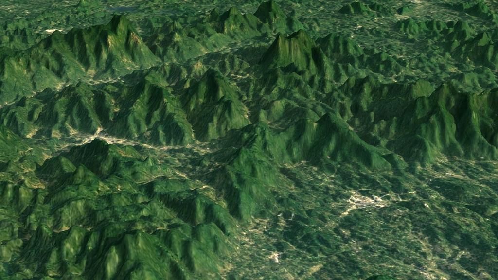 地图海南省电子沙盘模型海南省沙盘海南岛地形图海南岛高程数据模型