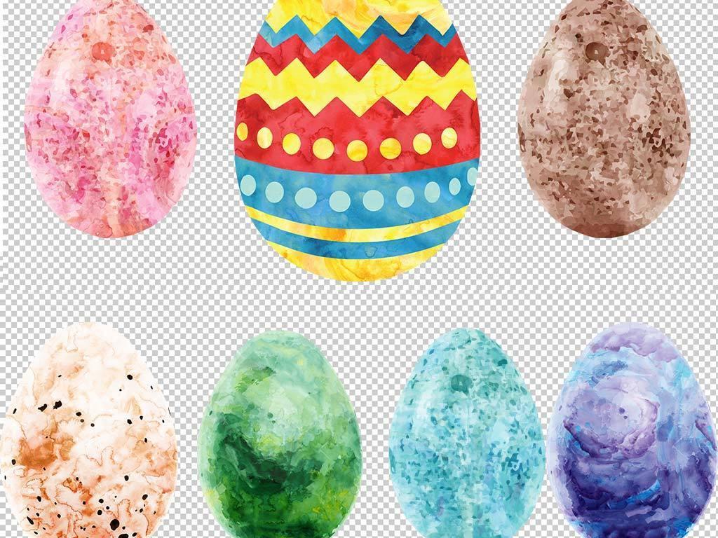 手绘彩蛋设计元素
