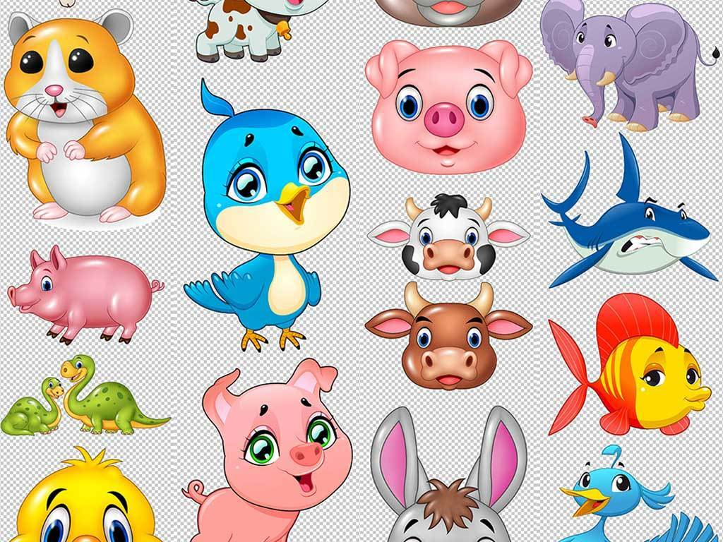 动物手绘卡通小动物可爱小动物卡通小动物图片小动物卡通图片动物小猫
