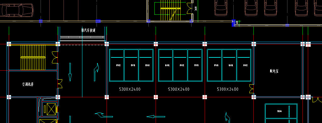设计方案商场cad施工图平面布置图立面图剖面图布局规划图节点图装修