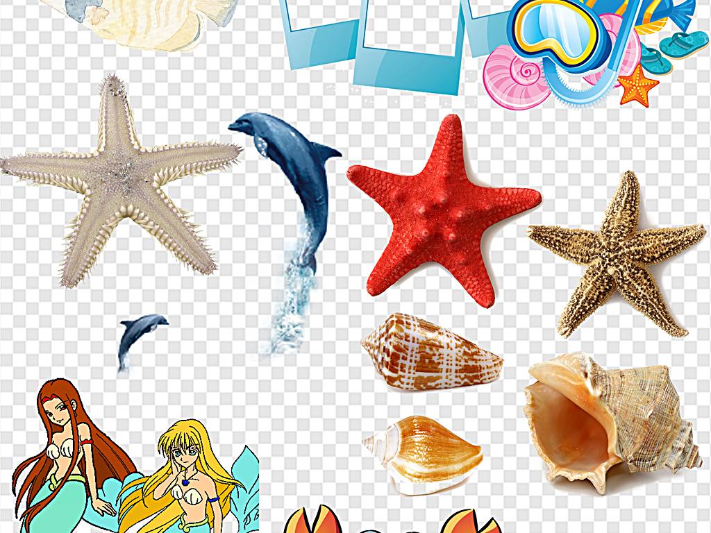 海洋小鱼海洋里的鱼鱼海洋海洋鱼卡通海滩素材海鱼海鲜卡通动物