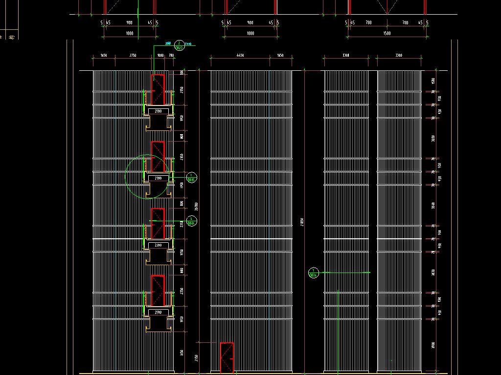 图书馆CAD建筑设计图