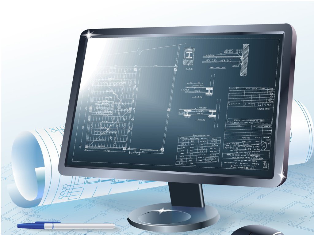 电脑显示器办公桌