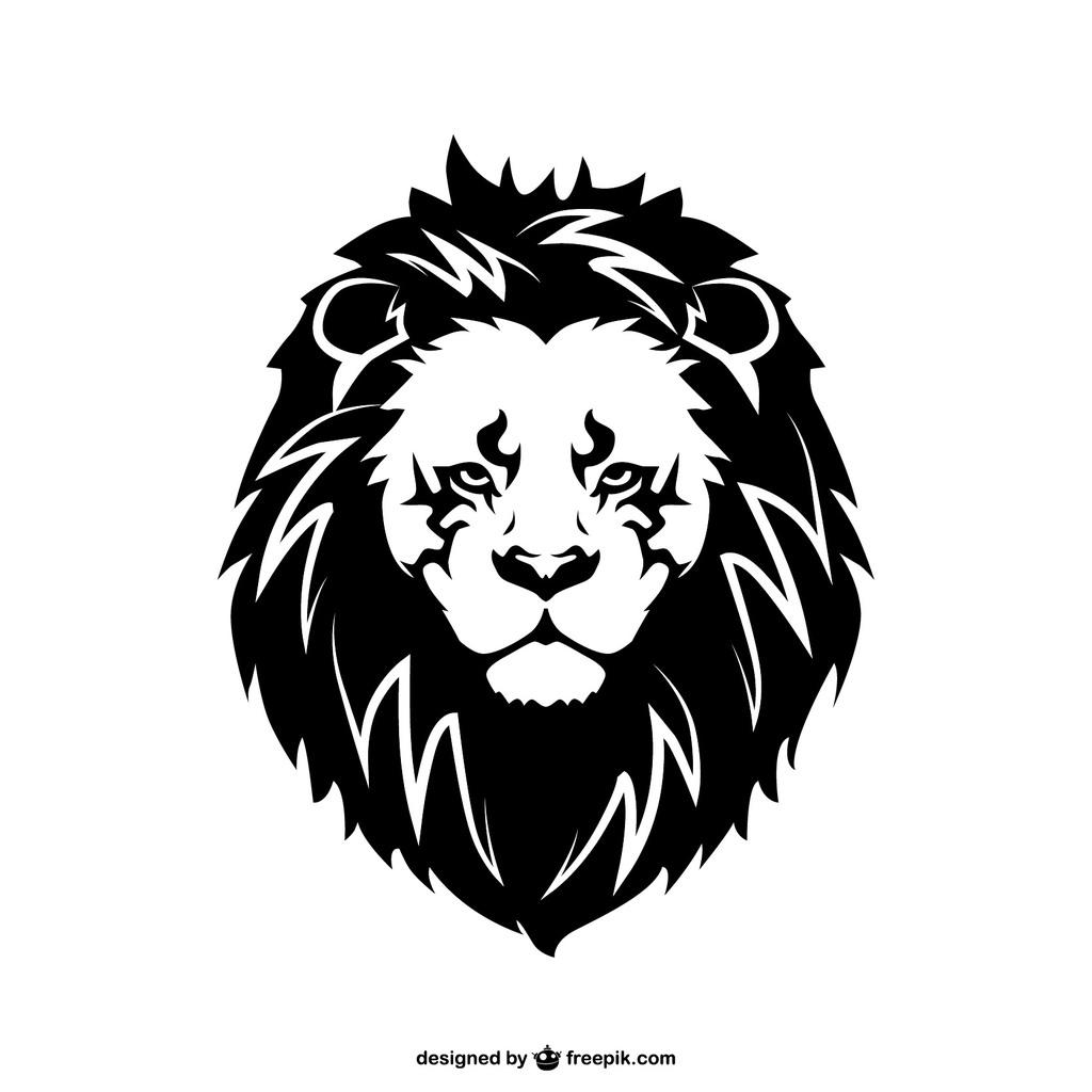 设计元素 自然素材 动物 > 北欧简约卡通狮子矢量标志   图片编号