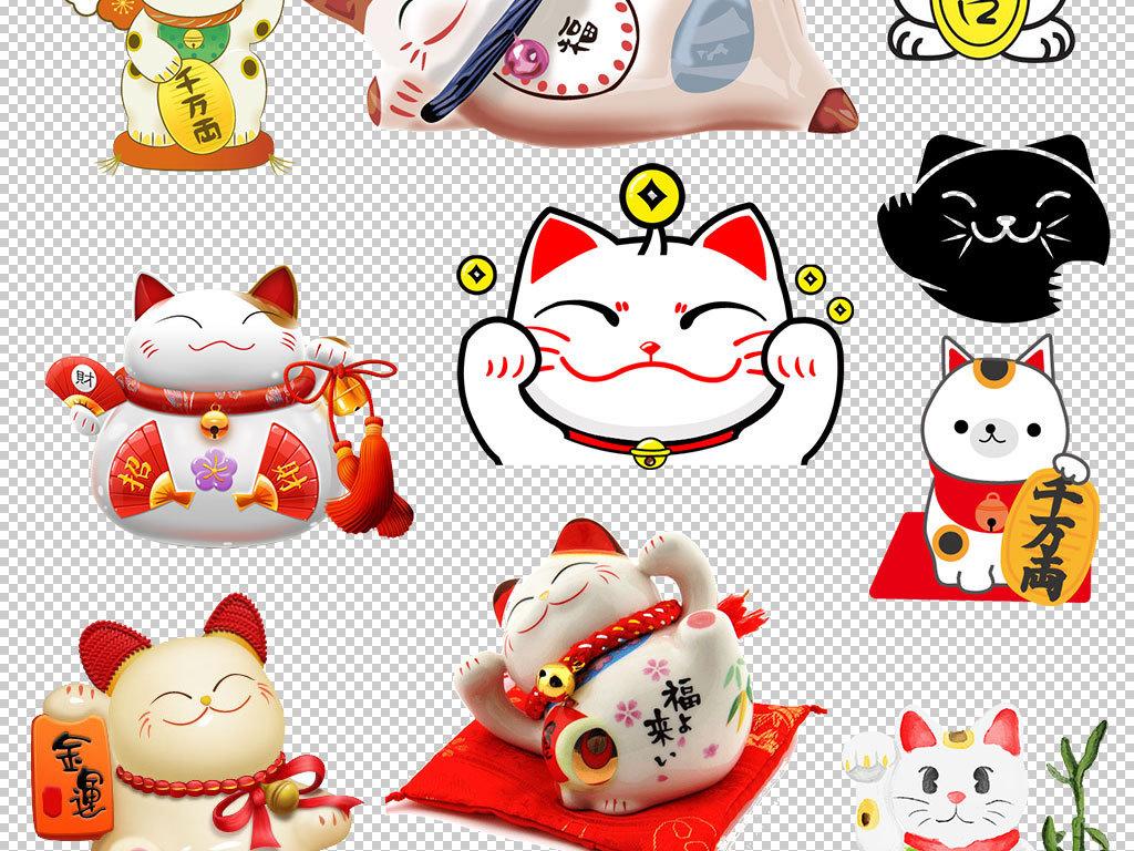 招财猫日本招财猫卡通招财猫聚财猫(图片编号:)_动物
